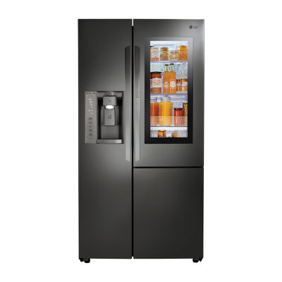 LG ENERGY STAR® 21.7 cu. ft. Smart Wi-Fi Enabled 4-Door French Door Refrigerator