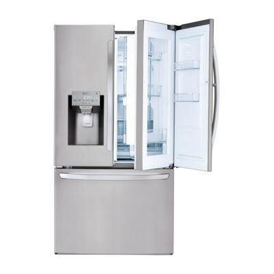 LG ENERGY STAR® 28 cu.ft. Smart Wi-Fi Enabled 3-Door Refrigerator with Door-in-Door®