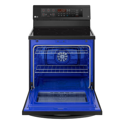 LG 6.3 cu. ft. Capacity Electric Single-Oven Range with True Convection and EasyClean®