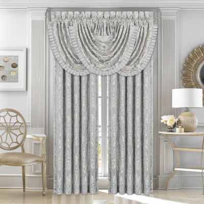 Five Queens Court Faith Back-Tab Set of 2 Curtain Panel