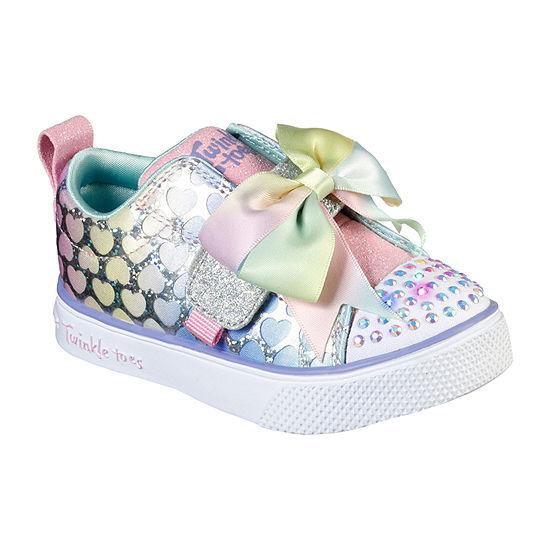 Skechers Twinkle Toes-Twinkle Breeze 2.0 Hearts Glitz