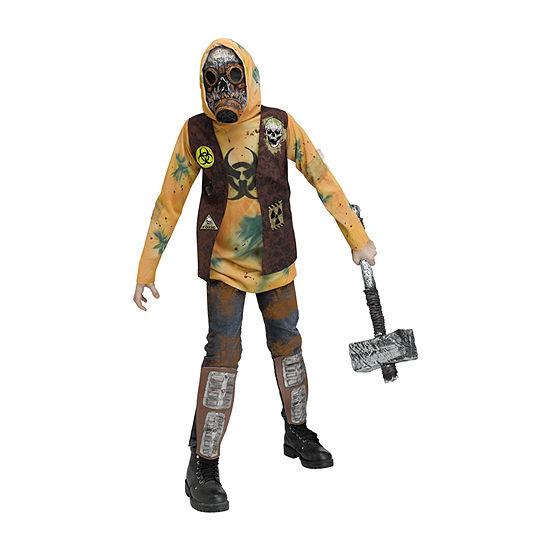 Big Kid Post-Apocalyptic Warrior Boys Costume Boys Costume