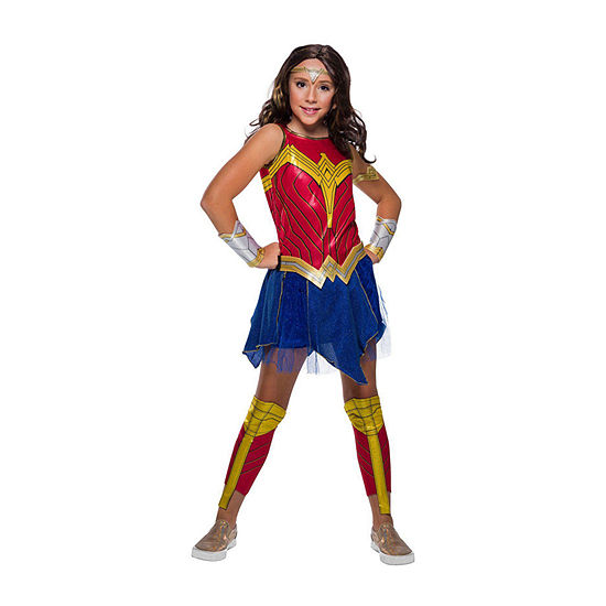 Child Wonder Woman 2 Movie Deluxe Girls Costume