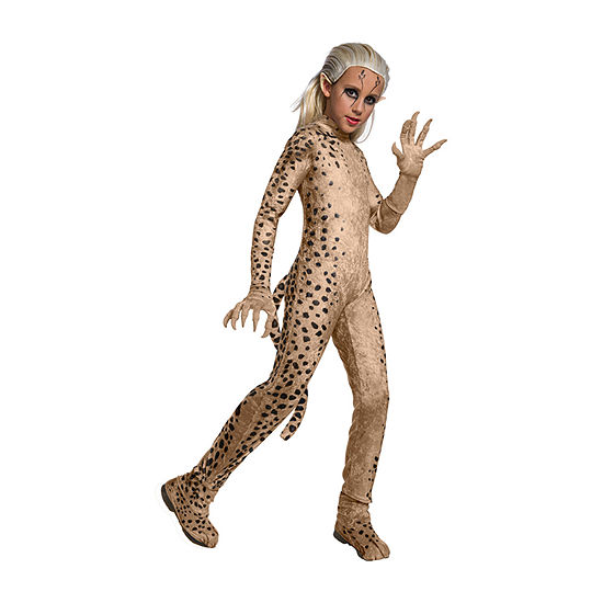 Ww84 Movie Cheetah Deluxe Child Girls Costume