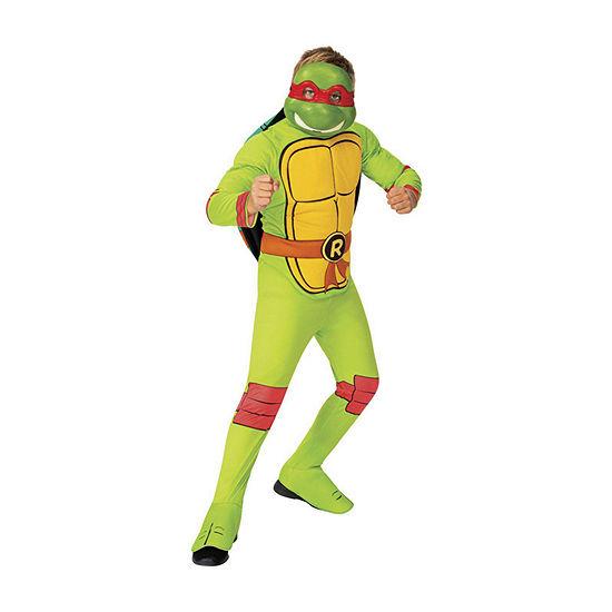 Child Teenage Mutant Ninja Turtles Classic Raphael Boys Costume