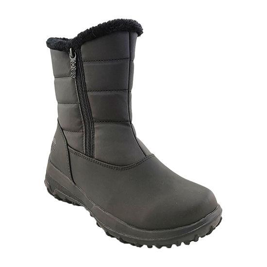 Totes Womens Mia Waterproof Winter Boots Flat Heel