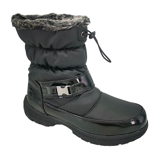 Totes Womens Nova Waterproof Winter Boots Flat Heel
