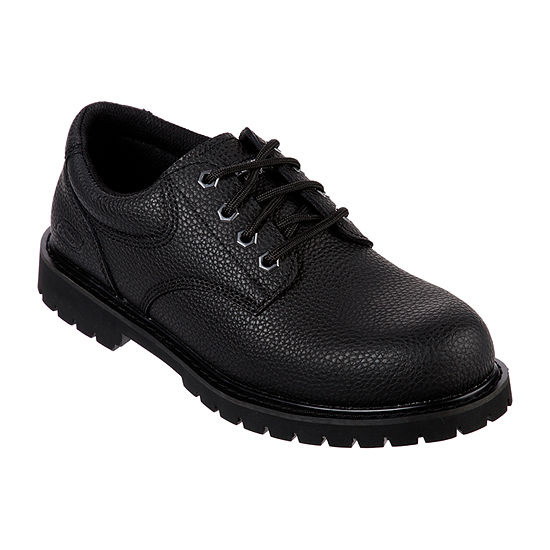 Skechers Mens Cottonwood Wide Width Work Shoes