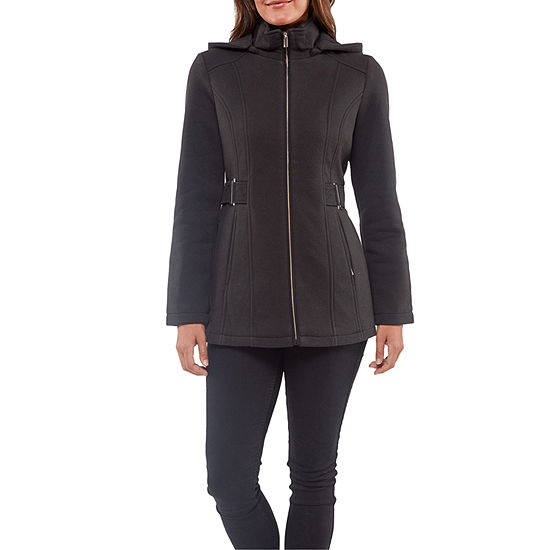 Liz Claiborne Fleece Midweight Jacket