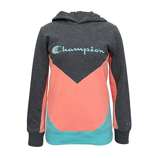 Champion Fleece Big Girls Hoodie