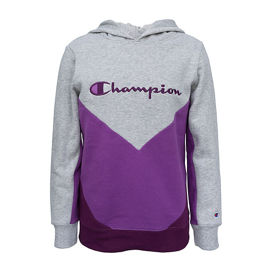 Champion Fleece Big Girls Hoodie