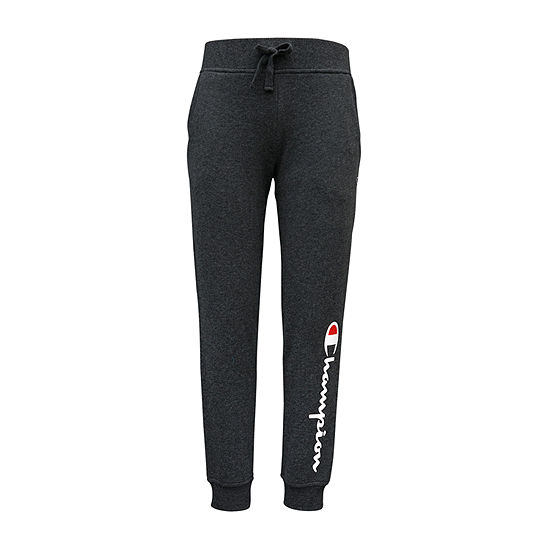 Champion Big Girls Mid Rise Tapered Jogger Pant