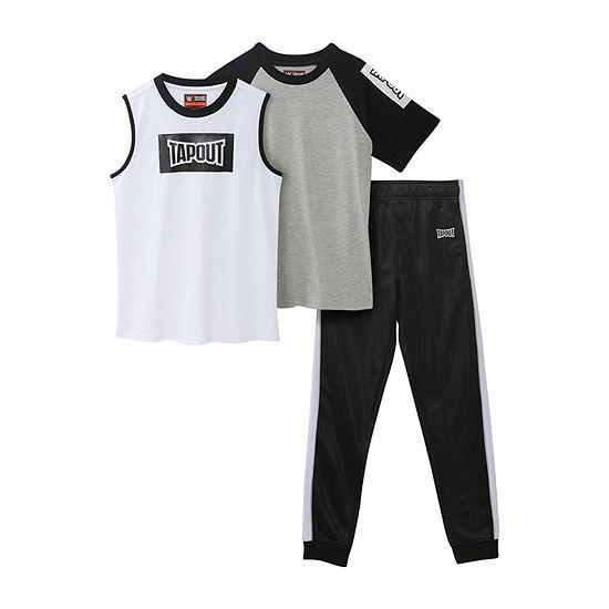 Tapout Little Boys 3-pc. Pant Set