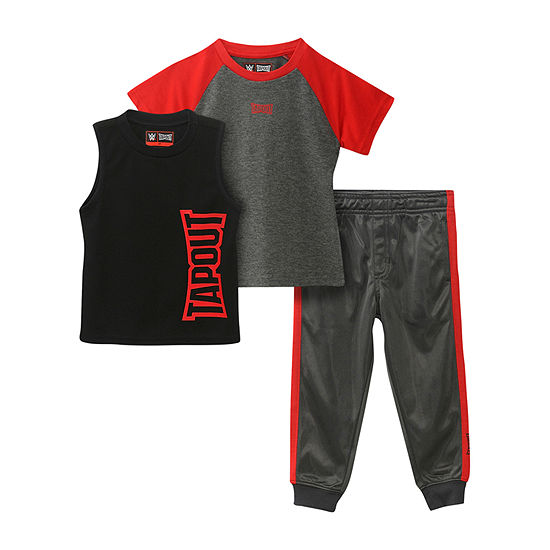 Tapout Little Boys 3-pc. Pant Set