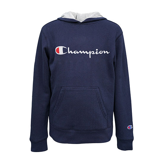 Champion Fleece Big Boys Embroidered Hoodie