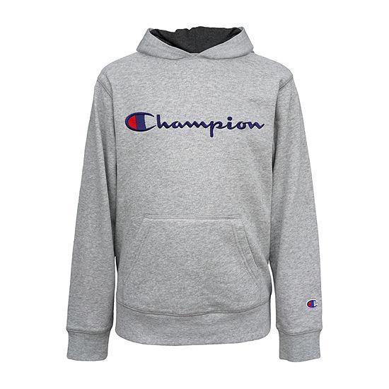 Champion Fleece Big Boys Embroidered Hoodie