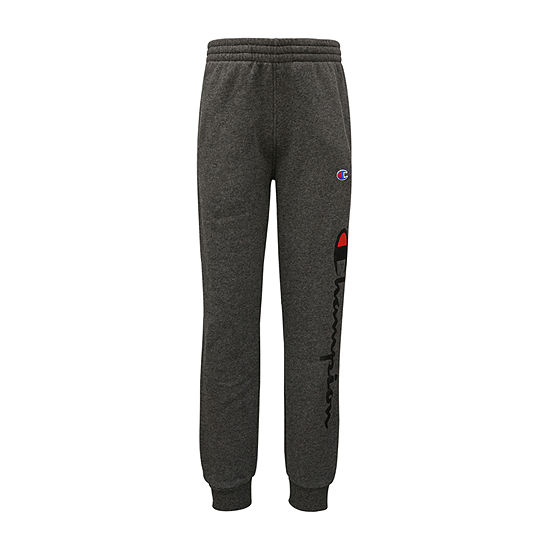 Champion Fleece Big Boys Mid Rise Tapered Jogger Pant