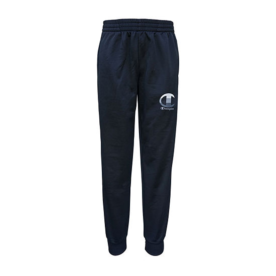 Champion Tricot Big Boys Mid Rise Tapered Jogger Pant