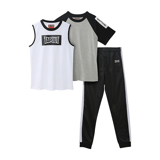 Tapout Big Boys 3-pc. Pant Set