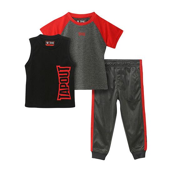Tapout Big Boys 3-pc. Pant Set