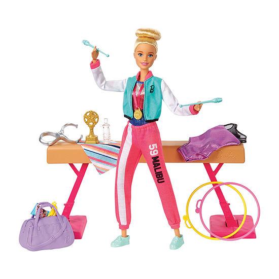 Barbie Gymnastics Doll & Playset