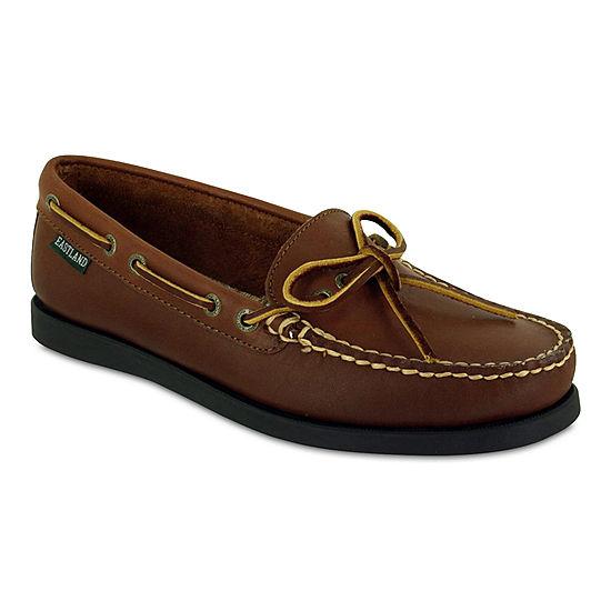 Eastland Yarmouth Women's ... Slip-On Leather Boat Shoes OLcHGiGi