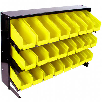 Stalwart™ 24-Bin Parts Storage Rack