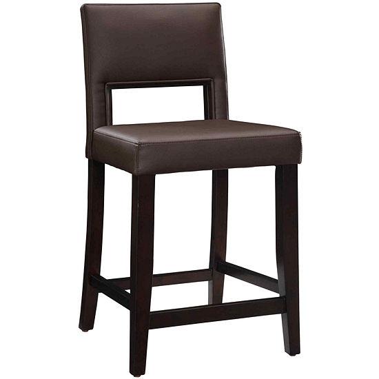 Vega Counter-Height Upholstered Barstool