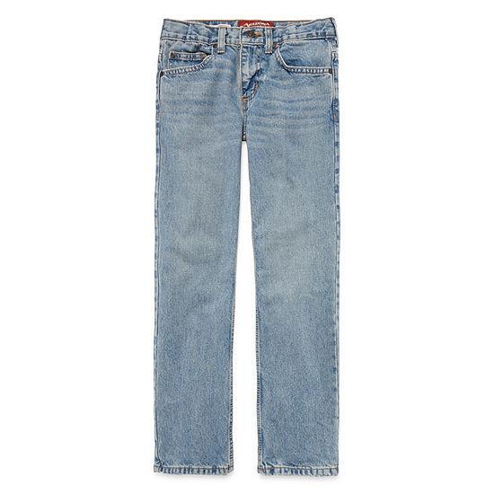 Arizona Little & Big Boys Straight Leg Jean