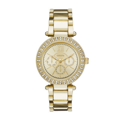 Geneva Womens Gold-Tone Watch