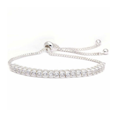 Sparkle Allure Cubic Zirconia Bangle Bracelet