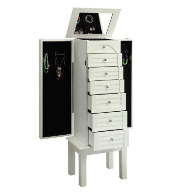 White Jewelry Armoire JCPenney