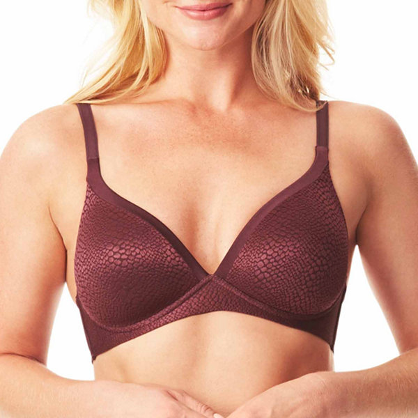 Warners Wireless Push Up Plunge Full Coverage Bra-01375