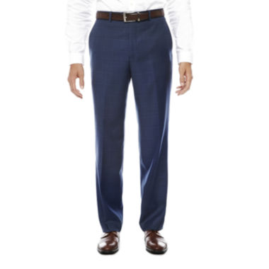 Stafford Plaid Stretch Classic Fit Suit Pants