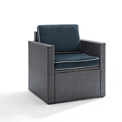 Crosley Palm Harbor Wicker Patio Lounge Chair