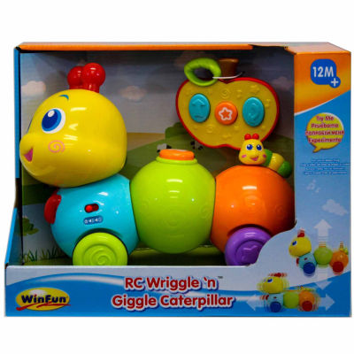 Rc Wriggle N Giggle Caterpillar 2-Pc. Toy Playset - Unisex