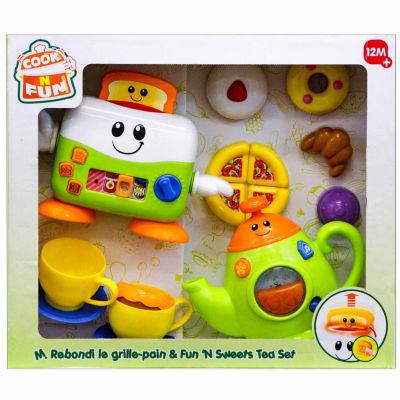 Toast N Fun And Sweet Tea Set-Housekeeping Toy
