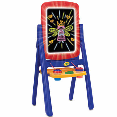 Grow'N Up Qwikflip Glow Kids Easel