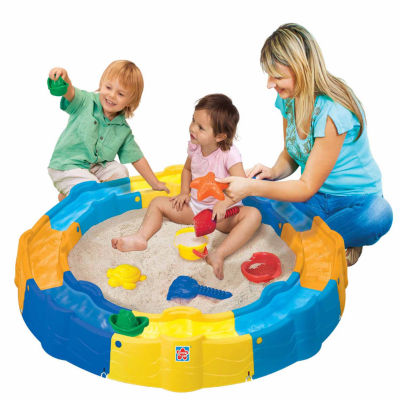 Grow'N Up Sand N Play Build Sandbox
