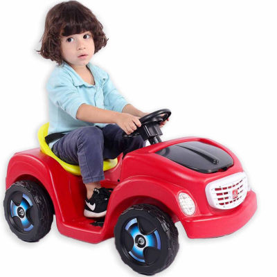 Kiddie Kar Red Ride-On Car