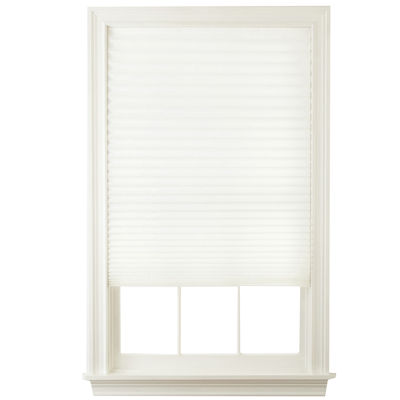 "JCPenney Home™ 36""Wx72""L Pleated Temporary Shades - 4 pack"