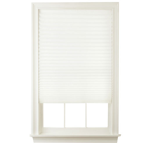 """JCPenney Home™ 36""""Wx72""""L Pleated Temporary Shades - 4 pack"""