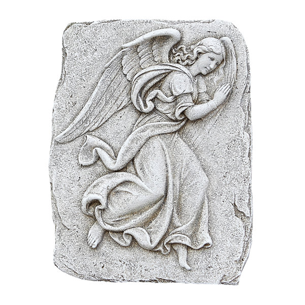 "15"" Angel Outdoor Plaque"