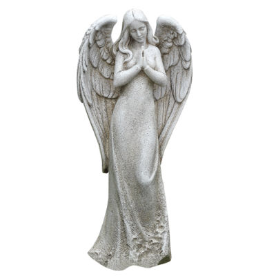 14.5' Praying Angel Outdoor Statue