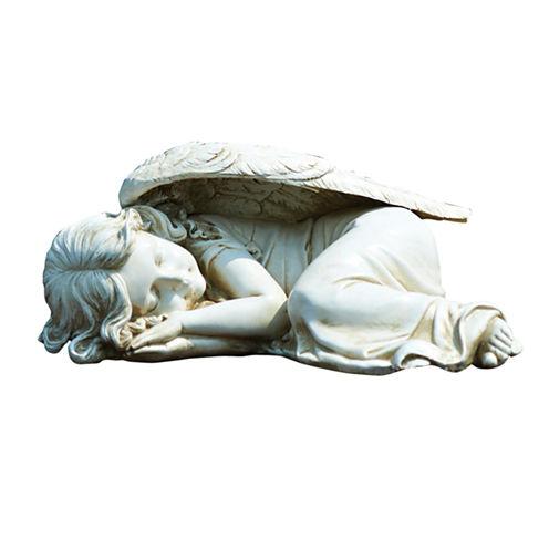 """5"""" Sleeping Garden Angel Outdoor Statue"""