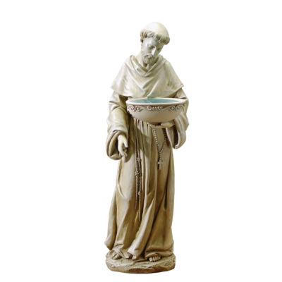 ST. FRANCIS SOLAR BIRDBATH