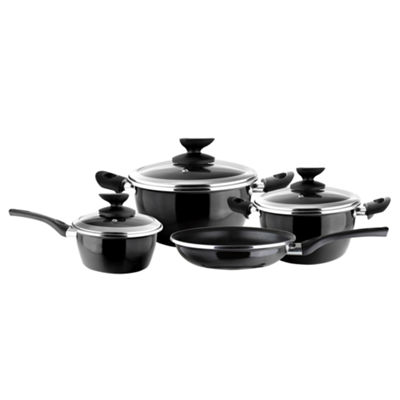 7-pc. Steel Cookware Set