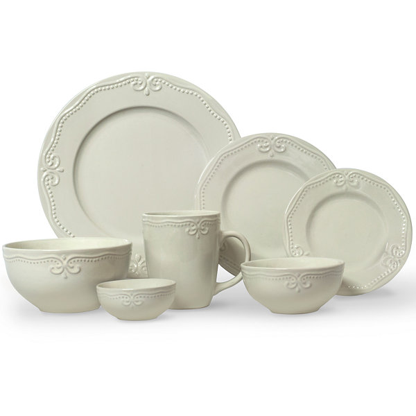 JCPenney Home™ Scroll 56-pc Dinnerware Set  sc 1 st  JCPenney : home dinnerware set - pezcame.com
