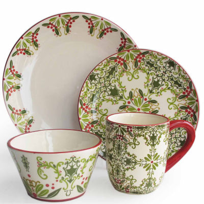 Jay Imports Bargello 16-pc. Dinnerware Set