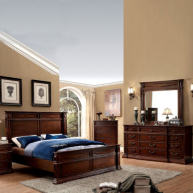 Logan Transitional 4-pc. Bedroom Set